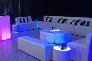 Photo #14: Lighted, Light Up Rental Event Furniture - BAR, SOFAS, OTTOMANS, BED...