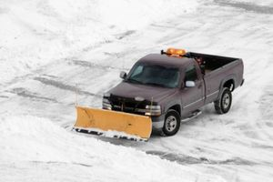 Photo #1: SNOW PLOWING SERVICE