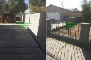 Photo #10: GREAT PRICES! LICENSED BLOCK FENCING & GATES. FREE ESTIMATES !!!