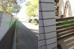Photo #4: GREAT PRICES! LICENSED BLOCK FENCING & GATES. FREE ESTIMATES !!!