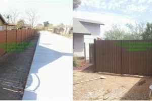 Photo #1: GREAT PRICES! LICENSED BLOCK FENCING & GATES. FREE ESTIMATES !!!
