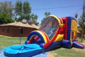 Photo #8: PARTY BOUNCE TIME - bouncers & water slides
