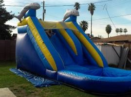 Photo #6: PARTY BOUNCE TIME - bouncers & water slides