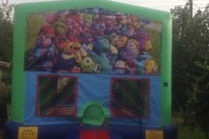 Photo #2: PARTY BOUNCE TIME - bouncers & water slides
