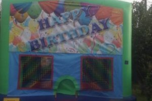 Photo #1: PARTY BOUNCE TIME - bouncers & water slides
