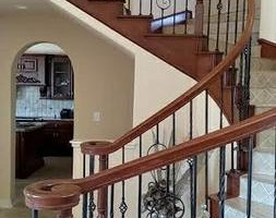 Photo #12: Staircase remodels and work