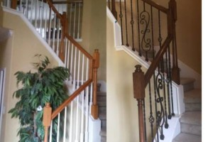 Photo #2: Staircase remodels and work