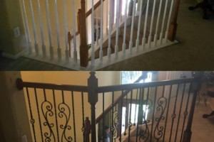 Photo #1: Staircase remodels and work