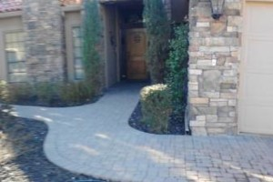 Photo #16: Block work - concrete work - pavers - stone veneer - stucco - demolition