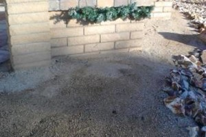 Photo #12: Block work - concrete work - pavers - stone veneer - stucco - demolition