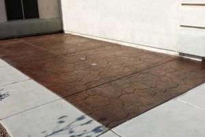 Photo #3: Concrete works - walkways, patios, driveways