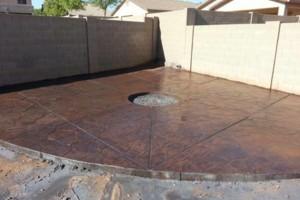 Photo #1: Concrete works - walkways, patios, driveways