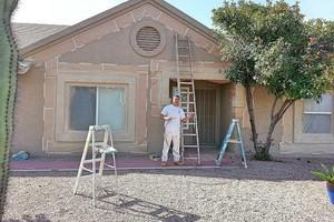 Photo #3: Interior/ exterior painting, drywall repair, iron fences/gates...