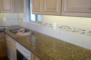 Photo #5: Make Your Boring Kitchen POP! Tile Basksplash Installation - CALL NOW!