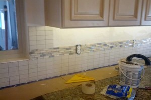 Photo #4: Make Your Boring Kitchen POP! Tile Basksplash Installation - CALL NOW!