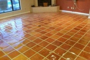 Photo #1: TILE INSTALLATION, CLEAN AND RESEALS TILE AND GROUT