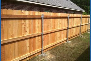 Photo #2: Fences installed!!! BD constructors