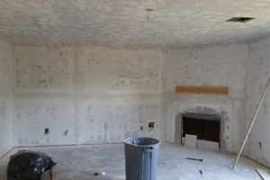 Photo #1: Sheetrock installation and repair