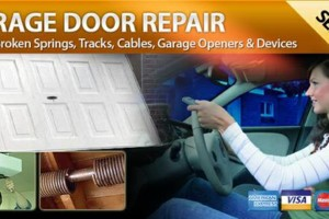 Photo #1: REPAIR OVERHEAD GARAGE DOORS SPRING, OPENER, CABLE, PANELS & PARTS