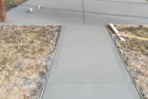 Photo #2: Concrete. Patios-patios-patios