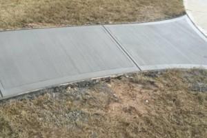 Photo #3: Concrete. Patios-patios-patios