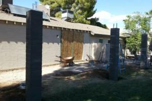 Photo #4: Experience masonry. Block fence and concrete work