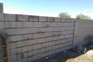 Photo #5: Experience masonry. Block fence and concrete work