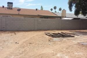 Photo #7: Experience masonry. Block fence and concrete work