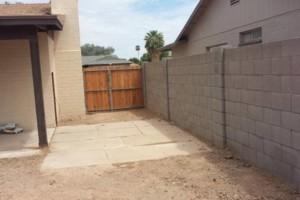 Photo #8: Experience masonry. Block fence and concrete work