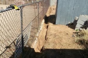 Photo #9: Experience masonry. Block fence and concrete work