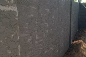 Photo #10: Experience masonry. Block fence and concrete work