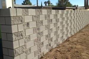 Photo #11: Experience masonry. Block fence and concrete work