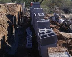 Photo #12: Experience masonry. Block fence and concrete work