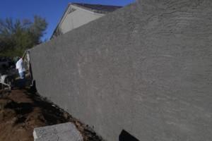 Photo #13: Experience masonry. Block fence and concrete work