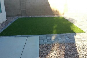Photo #11: ARTIFICIAL TURF, REAL TURF, PAVERS, GRAVEL & MORE