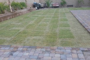 Photo #5: ARTIFICIAL TURF, REAL TURF, PAVERS, GRAVEL & MORE