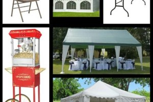 Photo #1: Tents, Chairs, and Tables for Rent