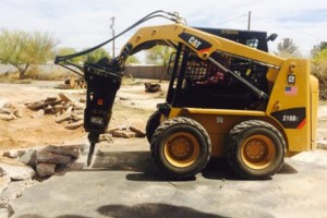 Photo #3: Grading, haul-off, bobcat, dirt-work, lot spin-offs