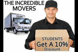 Photo #1: INCREDIBLE MOVERS!!!