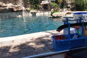 Photo #8: Pool Service Weekly, Monthly, One Time, Deck Recoating