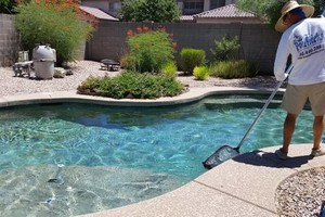 Photo #6: Pool Service Weekly, Monthly, One Time, Deck Recoating