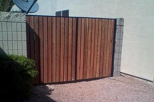 Photo #4: Fence & Gate Installation & Repair