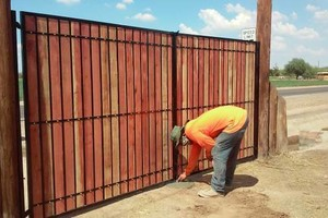 Photo #1: Fence & Gate Installation & Repair