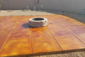 Photo #8: EPOXY COATINGS AND ACID CONCRETE STAIN