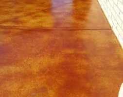 Photo #5: EPOXY COATINGS AND ACID CONCRETE STAIN