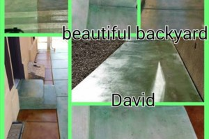 Photo #3: EPOXY COATINGS AND ACID CONCRETE STAIN