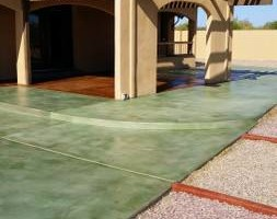 Photo #2: EPOXY COATINGS AND ACID CONCRETE STAIN