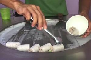 Photo #8: Thailand Ice Cream Rolls!!!