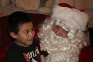 Photo #1: Santa, Santa, Santa Claus!