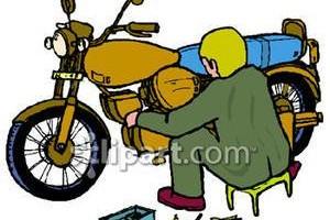 Photo #1: Free oil change! Drakes Mobile Cycle/ATV Repair